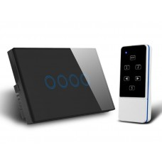 QUBINO RF433- Smart Switch-4 Gang