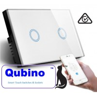 QUBINO  WiFi- Smart Switch-2 Gang