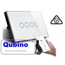 QUBINO WiFi- Smart Switch-4 Gang