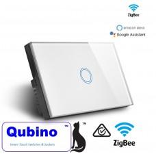 Qubino ZigBee 1 Gang Touch Switch